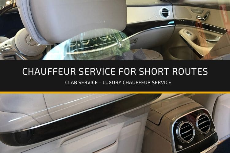 chauffeur service for short routes